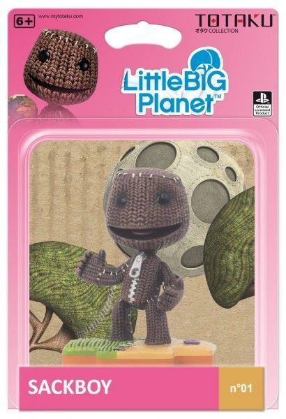 Фигурка TOTAKU: Сэкбой (Sackboy) Маленькая Большая Планета (Little Big Planet) 10 см