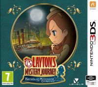 Купить игру Layton's Mystery Journey: Katrielle and the Millionaires' Conspiracy (Nintendo 3DS) на 3DS