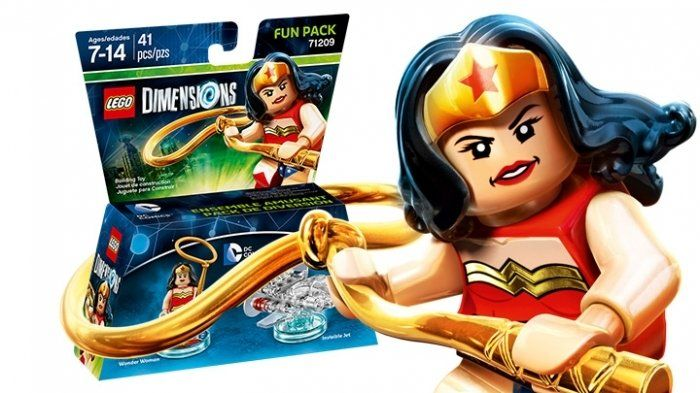 LEGO Dimensions Fun Pack DC Comics (Womder Woman, Invisible Jet)