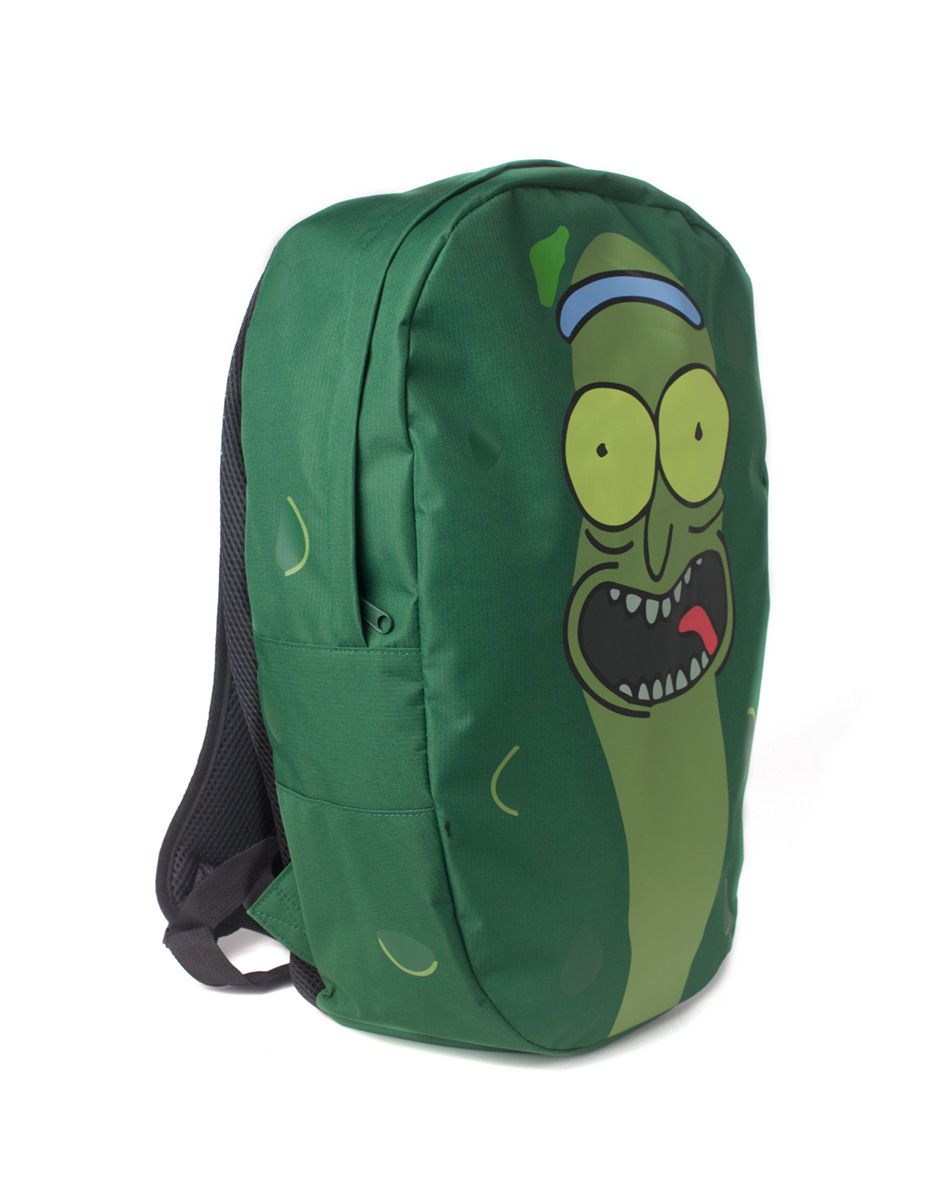 Рюкзак Difuzed: Rick and Morty Pickle Rick Shaped Backpack для игровых фанатов