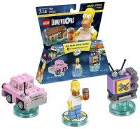 LEGO Dimensions Level Pack The Simpsons (Homer's Car, Homer, Taunt-o-Vision)