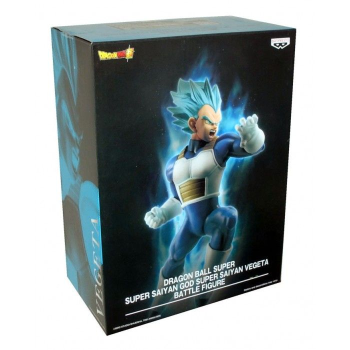 Фигурка Bandai: Супер Сайян Сний Вегета (Super Sayan Blue Vegeta) Жемчуг дракона (Dragon Ball) (26771) 16 см