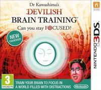 Купить игру Dr. Kawashima's Devilish Brain Training: Can you stay focused? (Nintendo 3DS) на 3DS