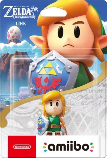 Amiibo: Интерактивная фигурка Линк (Link) (Link's Awakening) (The Legend of Zelda Collection) от Nintendo Switch
