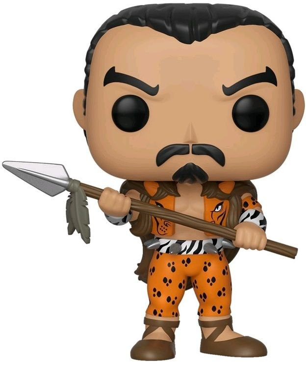 Фигурка Funko POP! Bobble: Крейвен-охотник (Kraven the Hunter) Марвел: 80-летие (Marvel 80th) (Exc) (42980) 9,5 см