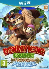 Купить игру Donkey Kong Country: Tropical Freeze (Wii U) на Nintendo Wii U диск