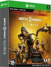 Mortal Kombat 11 (XI) Ultimate Limited Edition Русская версия (Xbox One/Series X)