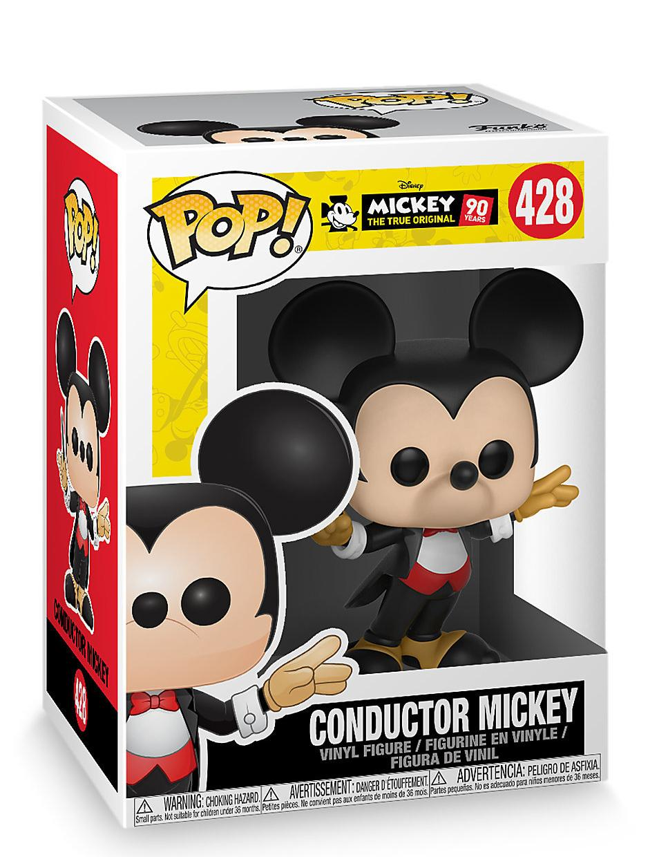 Фигурка Funko POP! Bobble Vinyl: Дирижер Микки Маус (Conductor Mickey) (Mickey's 90th) (32186) 9,5 см