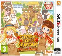 Купить игру Story of Seasons: Trio of Towns (Nintendo 3DS) на 3DS