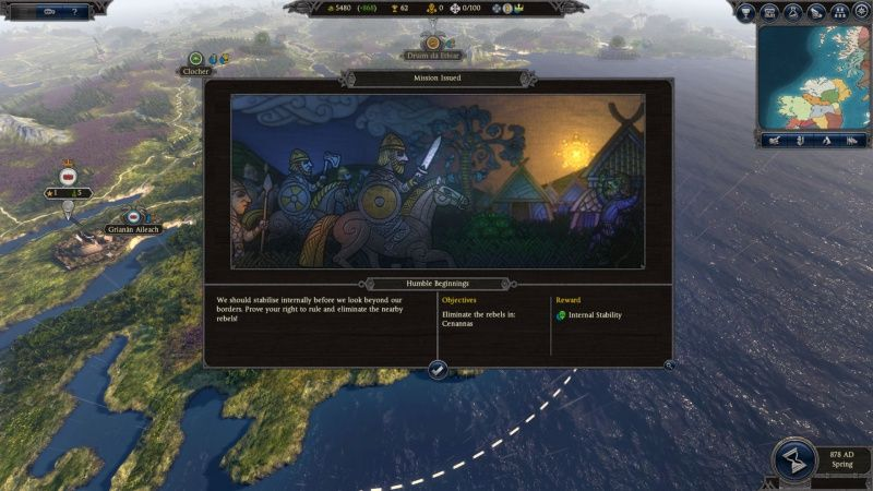 Total War Saga: Thrones of Britannia Русская Версия Box (PC)