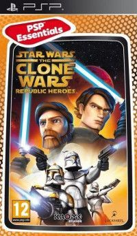 Star Wars The Clone Wars: Republic Heroes (Essentials) (PSP)