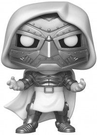 Фигурка Funko POP! Bobble: Марвел (Marvel) Доктор Дум (Doctor Doom) (45913) 9,5 см