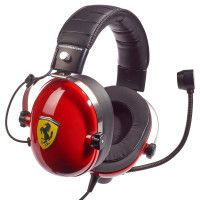 Гарнитура проводная стерео Thrustmaster T. Racing Scuderia Ferrari Edition (THR91) WIN/PS4/PS Vita/Xbox 360/Xbox One/Switch/3DS/Android/IOS
