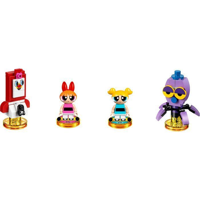 LEGO Dimensions Team Pack The Powerpuff Girls (PPG Smartphone. Blossom, Bubbles, Octi)