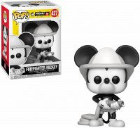 Фигурка Funko POP! Bobble Vinyl: Пожарный Микки Маус (Firefighter Mickey) (Mickey's 90th) (32185) 9,5 см