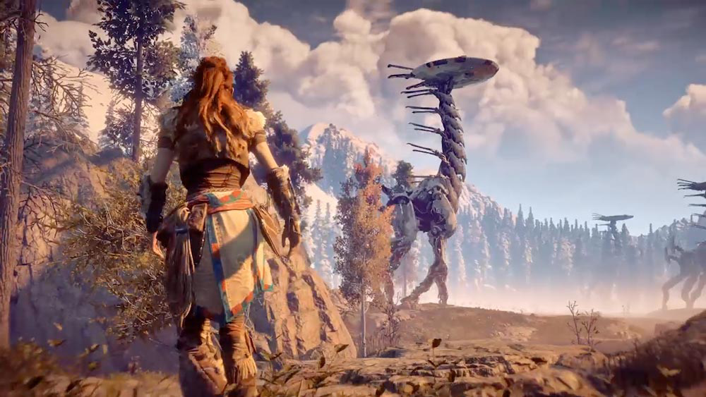 Horizon Zero Dawn - RPG на PS4